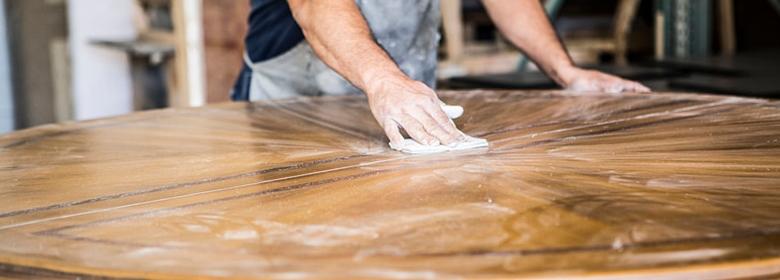 Table sanding and repolishing