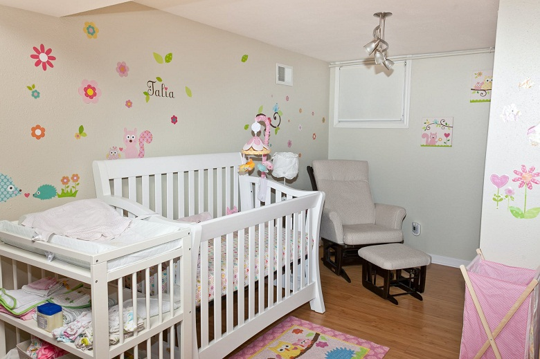 Perfect Nursery with carpet cleaning