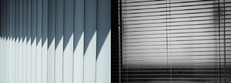Vertical vs Venetian blinds